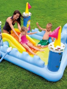 Immagine di INTEX ''PLAYCENTER CASTLE'' CM.185X152X107H