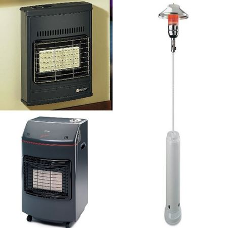 Immagine per la categoria TERMOVENTILATORI & STUFE A GAS-METANO