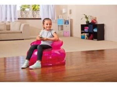 Immagine di INTEX POLTRONA FUN CHAIR TRASPARENTE GONFIABILE