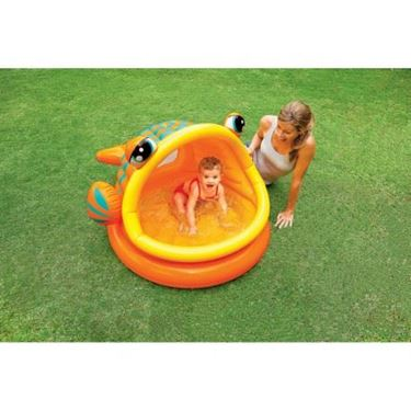 Immagine di INTEX PISCINA BABY FISH CM.124X109