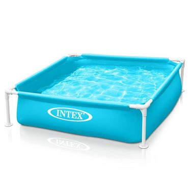 Immagine di INTEX PISCINA MINI FRAME VERDE  cm. 122x122x30 h