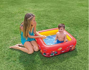 Immagine di INTEX CARS PISCINA QUADRATA CM.85X85X23