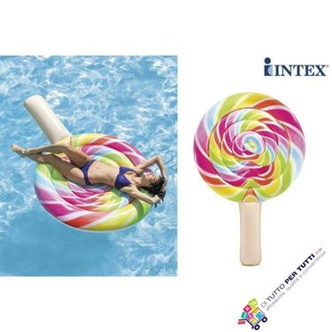 Immagine di Intex MATERASSINO GONFIABILE LOLLIPOP cm. 208x135